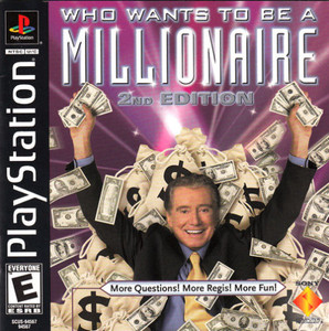 Complete Who Wants To Be a Millionaire: 2nd Edition - PS1 Game