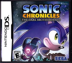 Sonic Chronicles the Dark Brotherhood - DS Game