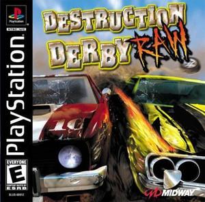 Destruction Derby Raw - PS1 Game