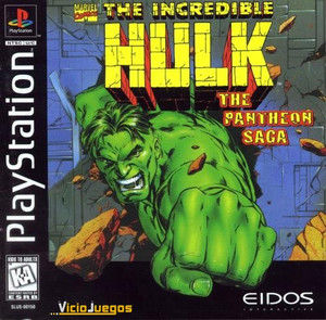 Incredible Hulk, The - PS1 Game