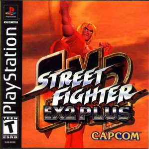 Street Fighter EX 2 Plus - PS1 Game