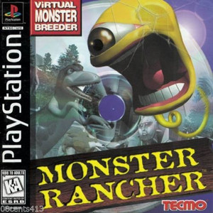Monster Rancher - PS1 Game