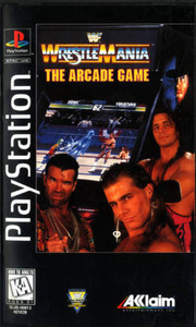 WWF WrestleMania the Arcade Game - PS1 Game