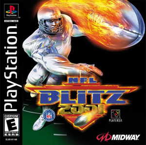 NFL Blitz 2001 - PS1 Game