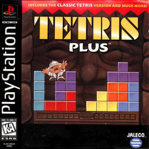 Tetris Plus - PS1 Game