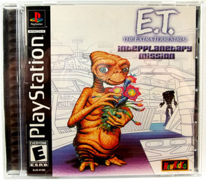 E.T. Interplanetary Mission - PS1 Game