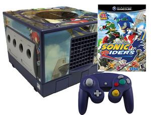 GameCube Sonic Riders Skin Indigo Player Pak