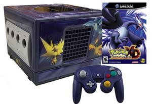 GameCube Pokemon XD Skin Indigo Player Pak w Game