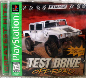 Complete Test Drive Off Road Greatest Hits - PS1 Game