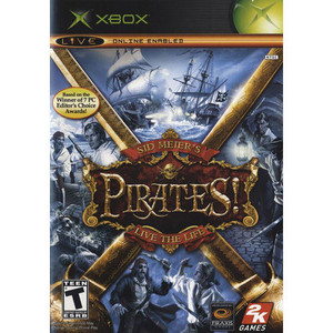 Sid Meiers Pirates Live the Life - Xbox Game