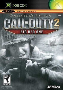 Call of Duty 2 Big Red One Collector's Edition - Xbox Game