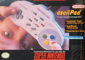 Compete Ascii Pad Controller - SNES