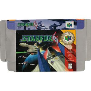 Star Fox 64 Player's Choice - Empty N64 Box