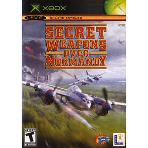 Secret Weapons Over Normandy - Xbox Game