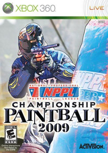 NPPL Championship Paintball 2009 - Xbox 360 Game