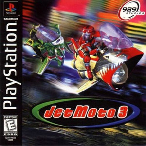 Jet Moto 3 - PS1 Game
