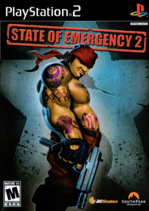 State of Emergency 2 - PS2 Game