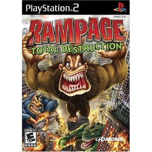 Rampage Total Destruction - PS2 Game