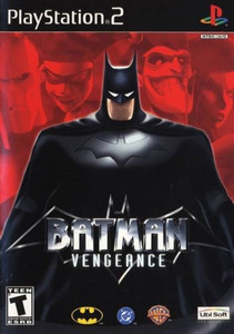 Batman Vengeance - PS2 Game