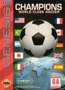 Complete Champions World Class Soccer - Genesis Game