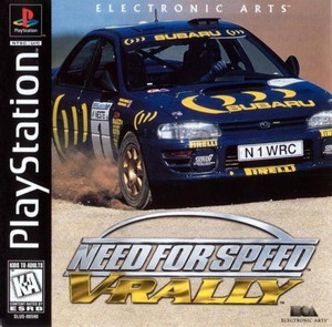 Need For Speed: V-Rally - PS1 Game