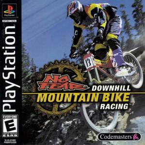 No Fear Downhill Mountain Bike Racing - PS1 Game