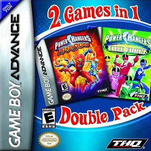 Power Rangers Time Force / Power Rangers Ninja Storm 2 in 1 - Game Boy Advance Game