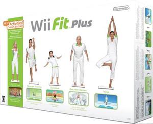 Wii Fit Plus box