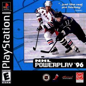 NHL Powerplay 96 - PS1 Game