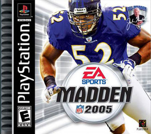 Madden 2005 - PS1 Game