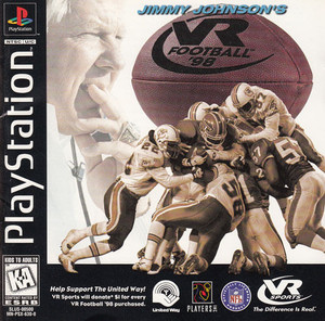 Jimmy Johnson's VR Football 98 - PS1 Game