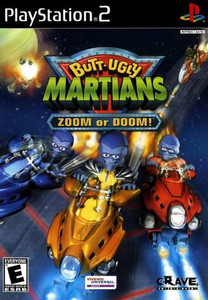 Butt Ugly Martians Zoom or Doom - PS2 Game