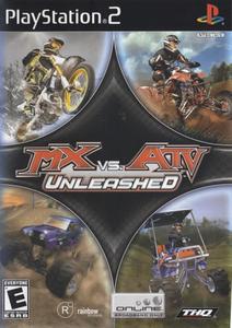MX vs ATV Unleashed - PS2 Game