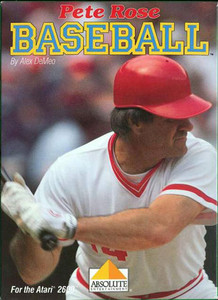 Pete Rose Baseball - Atari 2600 Game