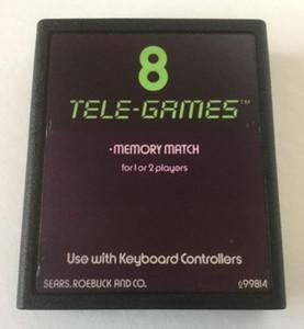 Memory Match - Atari 2600 Game