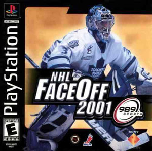 NHL FACEOFF 2001 - PS1 Game
