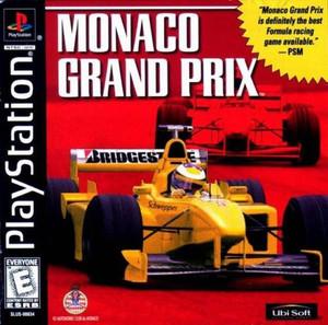 Monaco Grand Prix - PS1 Game