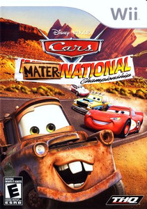 Cars Mater-National Championship - Wii Game
