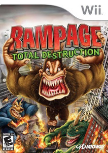 Rampage Total Destruction - Wii Game