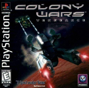 Colony Wars Vengeance - PS1 Game
