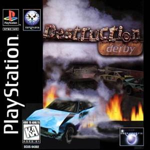 Complete Destruction Derby - PS1 Game