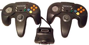 Wireless 2 Player DOCS Nintendo 64 Controller - N64