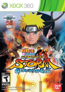 Naruto Shippuden: Ultimate Ninja Storm Generations - Xbox 360 Game