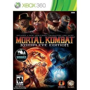 Mortal Kombat Komplete Edition - Xbox 360 Game