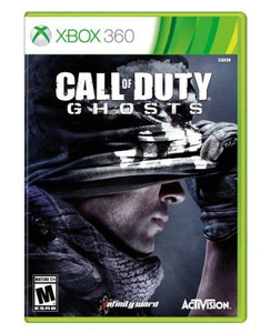 New Call of Duty Ghosts - Xbox 360 Game