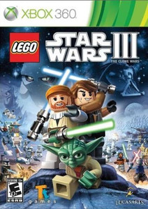 Lego Star Wars III the Clone Wars- Xbox 360 Game