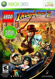 Lego Indiana Jones 2 - Xbox 360 Game