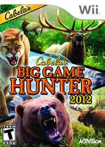 Cabela's Dangerous Hunter 2012 - Wii Game