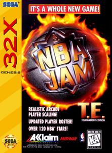 NBA Jam Tournament Edition - 32X Game