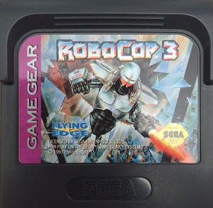RoboCop 3 - Game Gear Game